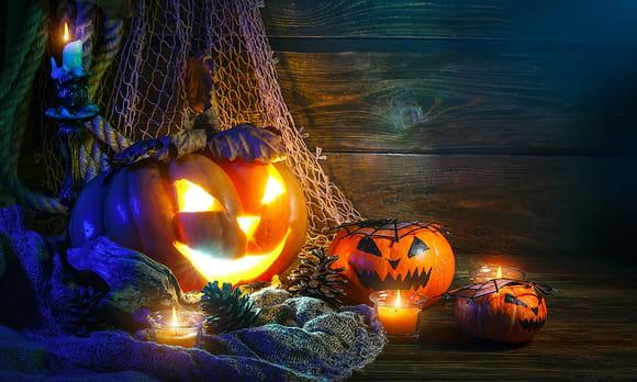 Activité manuelle monstres d'Halloween