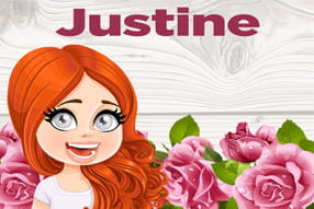 Justine : prénom de fille lettre J