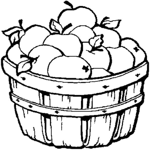 Pomme coloriage pomme en ligne gratuit a imprimer sur - Dessin pomme a colorier ...