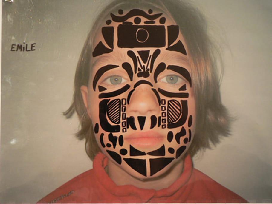 Maquillage sur Photo