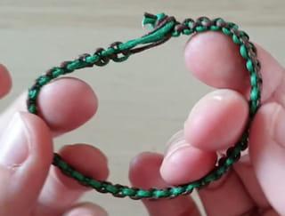 Le bracelet est fini!