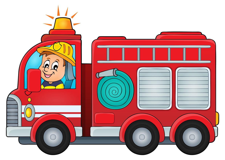 Coloriage Camion De Pompier Sur Hugolescargot Com