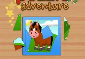 Jeu: Le puzzle des animaux