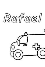 Coloriage Rafael