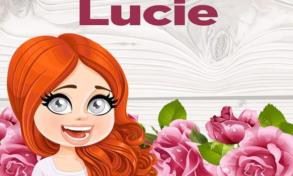 Lucie : prénom de fille lettre L