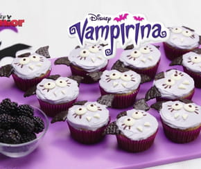 Des cupcakes Vampirina [VIDEO]