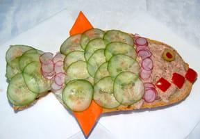 Sandwich Mimi la Sardine