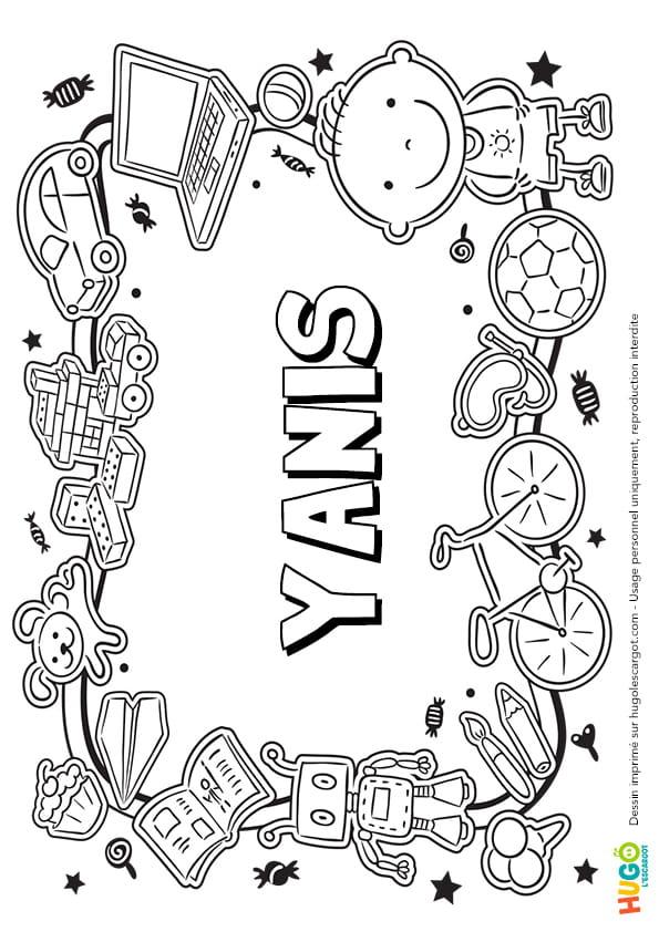 Yanis prénom de garçon version3