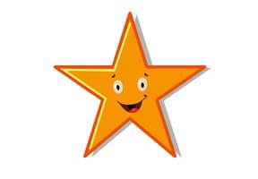 Apprendre à dessiner: une étoile