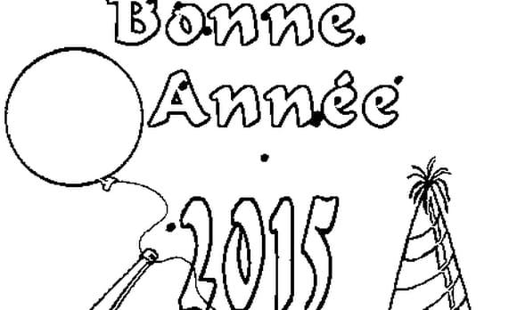 Dessin 2015 a colorier
