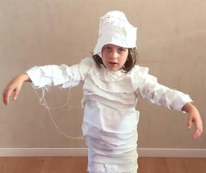 Déguisement de momie pour Halloween [VIDEO]