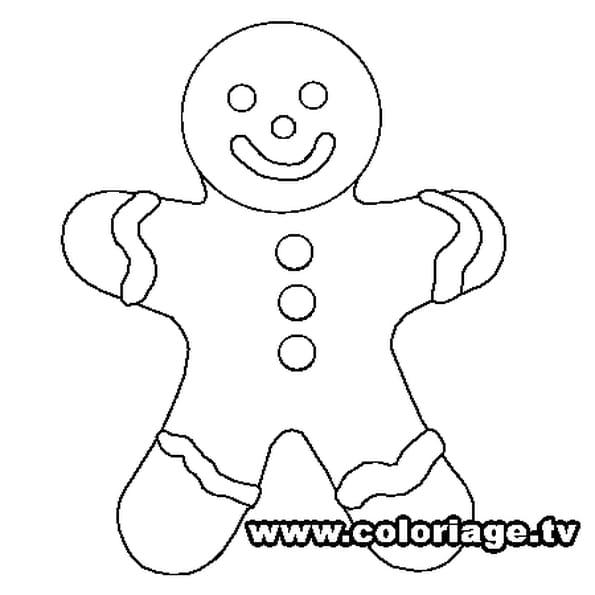 Bonhomme pain d 39 pice coloriage bonhomme pain d 39 pice en ligne gratuit a imprimer sur coloriage tv - Coloriage petit bonhomme de pain d epice ...