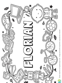 Florian prénom de garçon version3