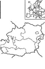 Coloriage carte Autriche