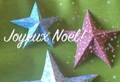 Origami Étoile en papier