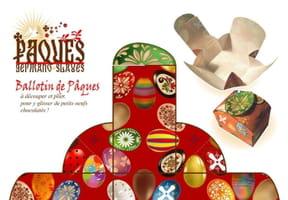 Ballotin de Pâques: fabriquez une boîte à chocolats