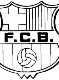 fc barcelone - Image De Coloriage