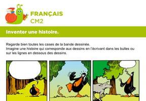 Inventer une histoire, les animaux de la forêt
