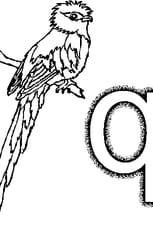 Coloriage Lettre q en Ligne Gratuit à imprimer