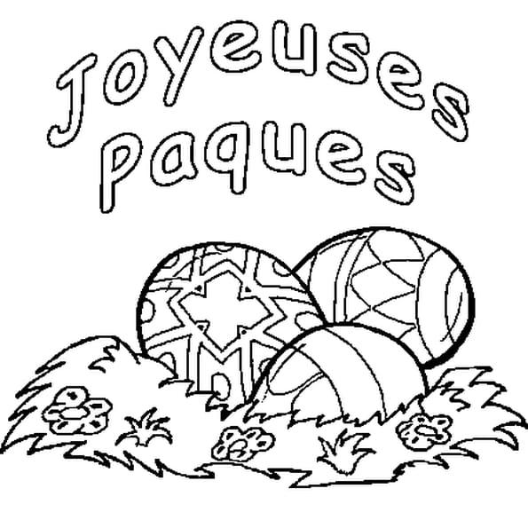 Coloriage gratuit paques - Image de paques gratuit ...