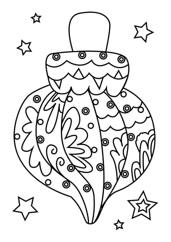 Coloriage Boules De Noel à Imprimer Gratuit : coloriage boule de no l torsad e ~ Pogadajmy.info Styles, Décorations et Voitures