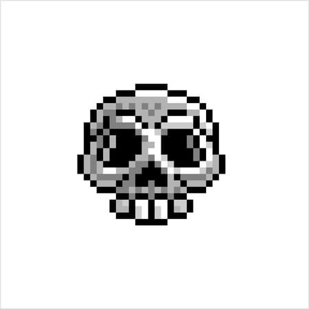 pixel-art-halloween-tete-de-mort