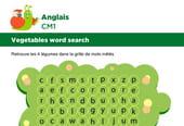 Apprendre des mots en Anglais, les légumes du jardin