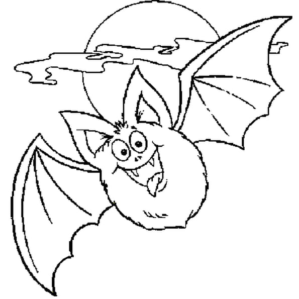 Chauve souris coloriage chauve souris en ligne gratuit a - Dessin halloween chauve souris ...