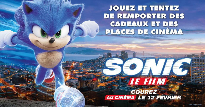 Concours Sonic Le Film