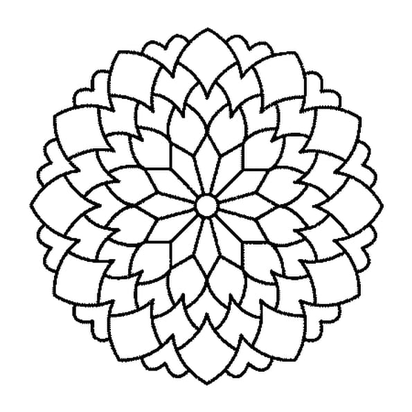 Coloriage mandala carnivore en ligne gratuit imprimer for Composer bouquet en ligne