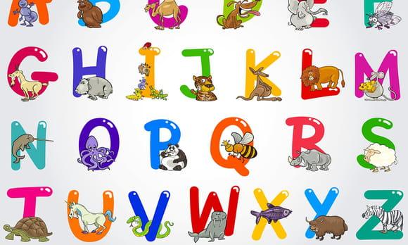 Alphabet Animaux et Oiseaux