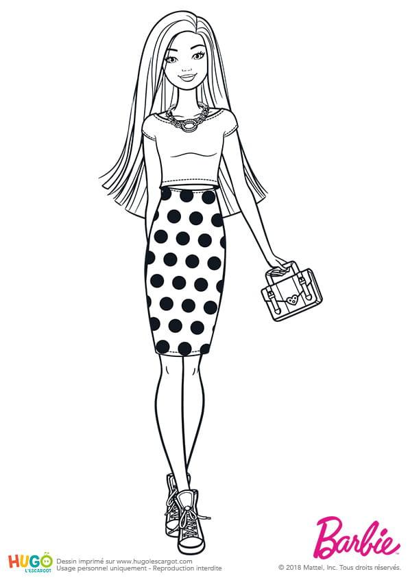 Barbie Fashionistas, jupe à pois