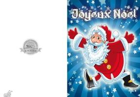Carte Père Noël surprise