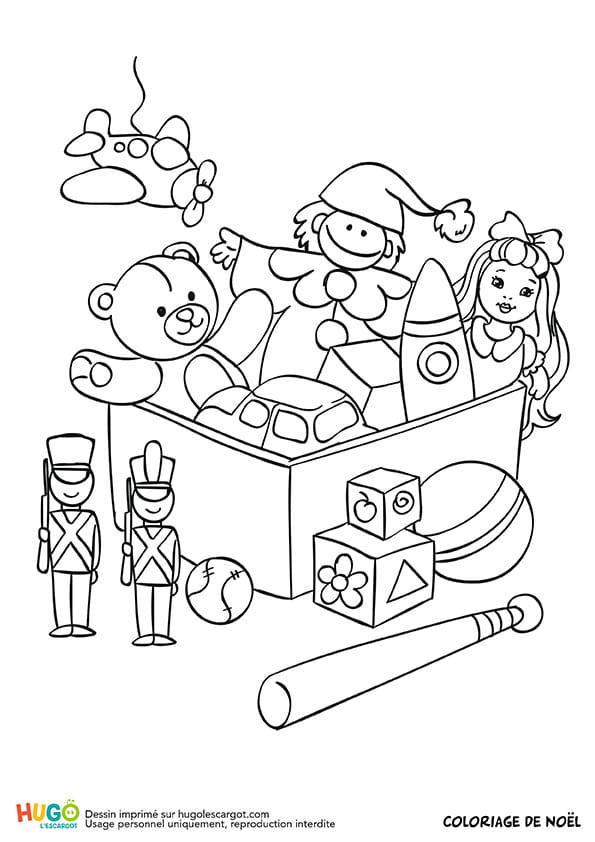 Le coffre à jouets