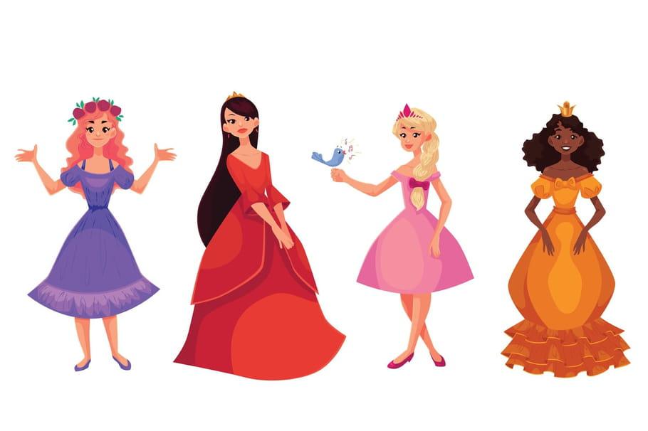 Comptine Les petites princesses du monde