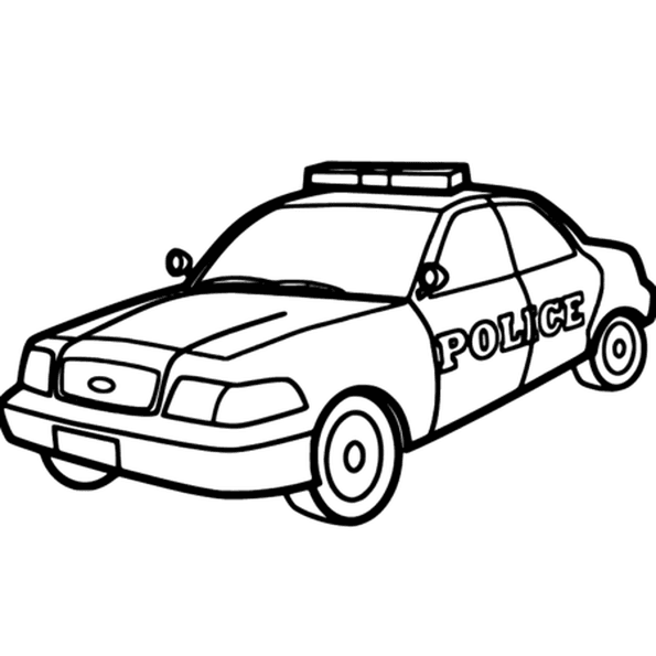 Coloriage voiture de police en ligne gratuit imprimer - Coloriage voiture enfant ...