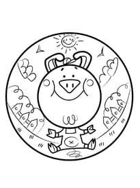 Coloriage Cochon Hugo Lescargot.Coloriage Cochon Sur Hugolescargot Com