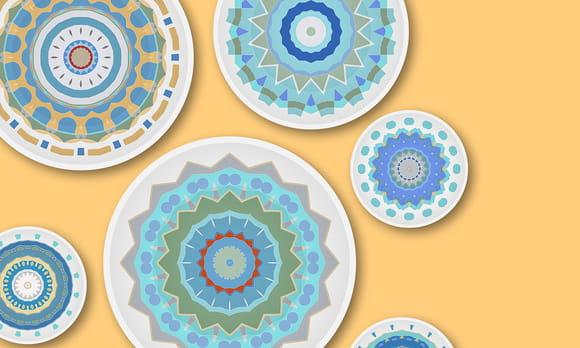 Coloriage Mandala Gâteaux
