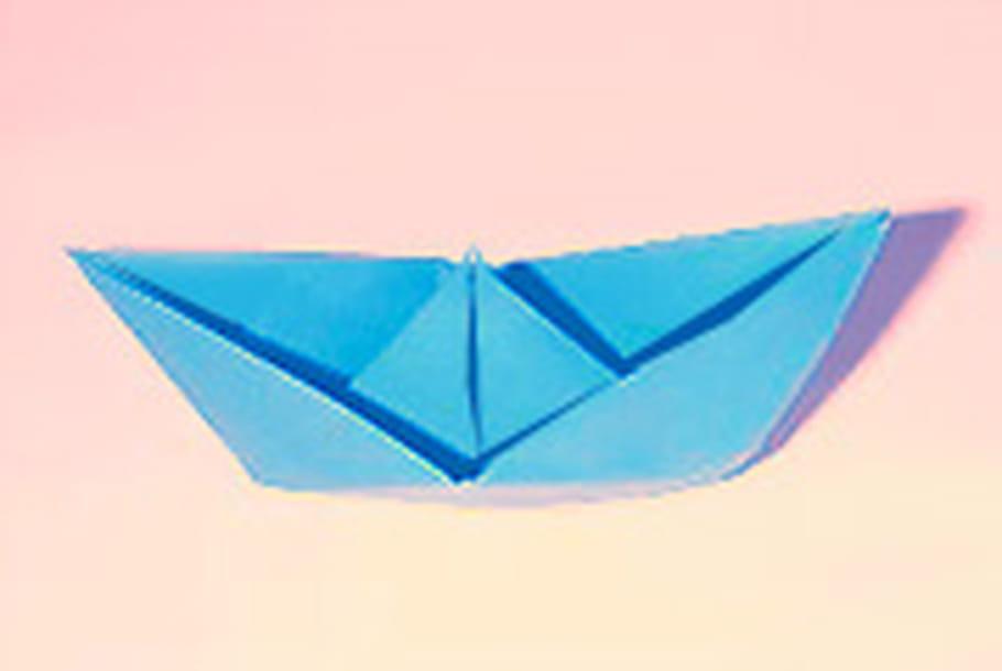 Pliage D Un Bateau En Papier Origami Bateau En Video