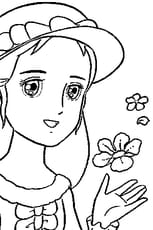 Coloriage Princesse