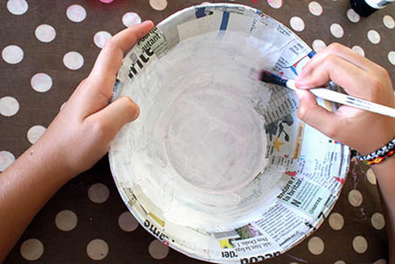 Activité Manuelle Avec Du Papier Peint objets en papier mâché