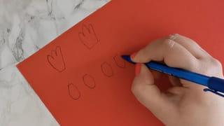 Étape 2: dessiner les crêtes