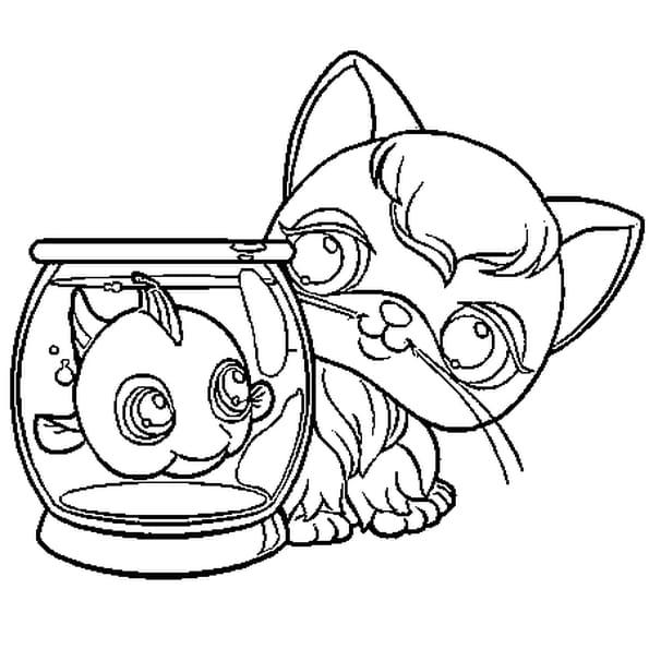 Coloriage a imprimer petshop - Dessin pet shop ...