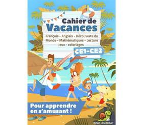 Cahier de vacances CE1-CE2