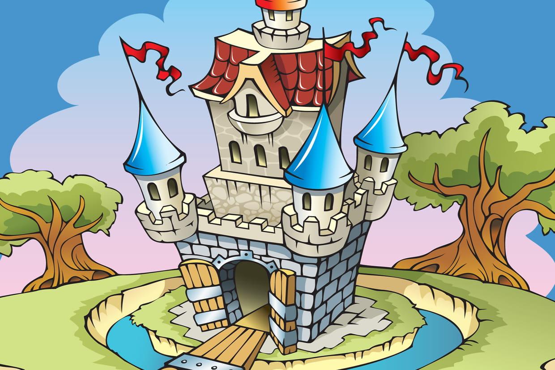 Coloriage Chateau Gs.Coloriage Chateau Sur Hugolescargot Com