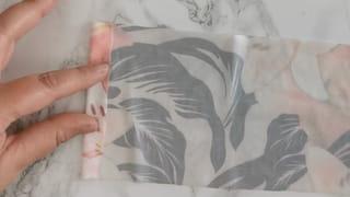 Étape 1: préparez le tissu