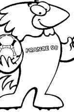 Coloriage de la Coupe du Monde 98