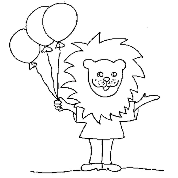 Coloriage carnaval animaux