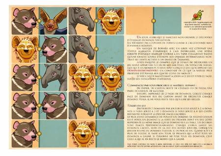 Jeu de domino des animaux - Jeux hugo l escargot 2 ...