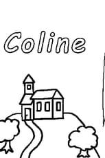 Coloriage Coline en Ligne Gratuit à imprimer